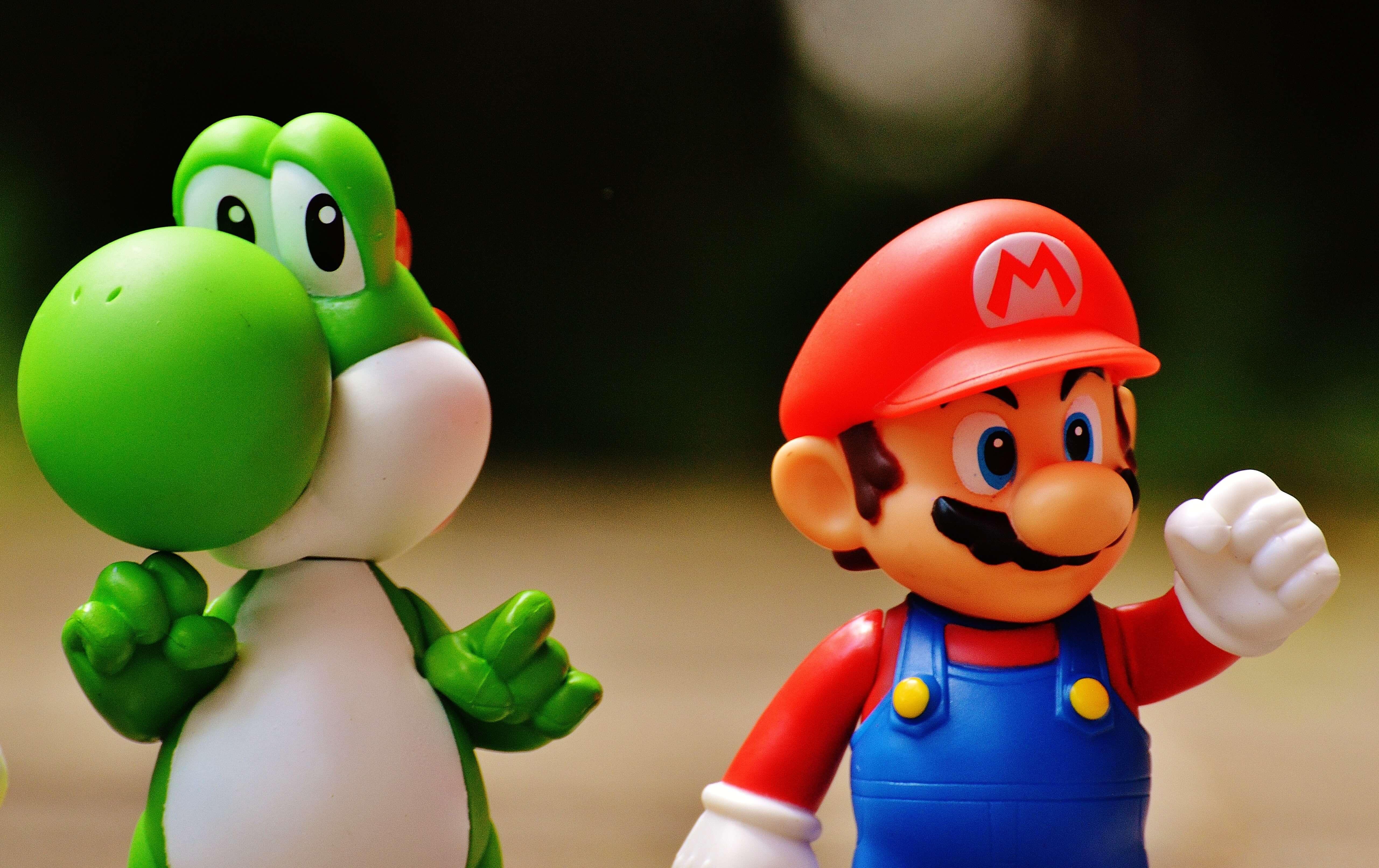 Yoshi & Mario characters